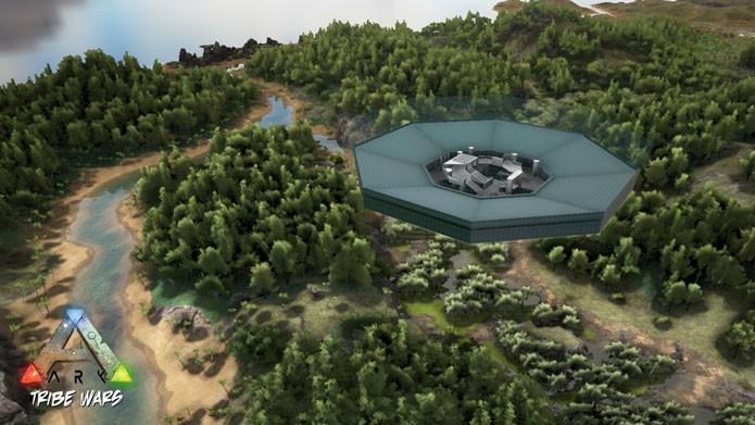 Tribes Wars é um mod para o PVP de Ark: Survival Evolved (Foto: Divulgação/Steam Workshop)