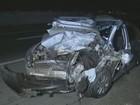Acidente com 3 carros deixa 5 feridos e fecha rodovia de Santa Bárbara, SP
