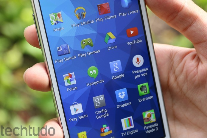 Galaxy Gran Prime vem de fábrica com Android Kitkat e pode receber Lollipop (Foto: Lucas Mendes/TechTudo)