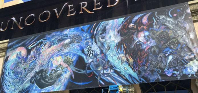Arte de Yoshitaka Amano para Final Fantasy 15 (Foto: Divulgação/Square Enix)