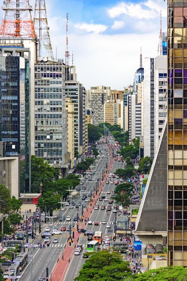 Arquitetos e urbanistas revelam nova versão da Av. Paulista  (Foto: Divulgação)
