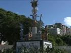 Monumento 'A Pedra do Reino' homenageia Ariano Suassuna  na PB