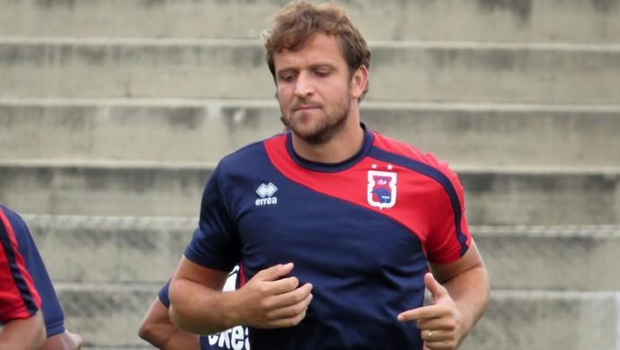 Rodrigo Tosi Atacante do Paraná Clube (Foto: Fernando Freire)
