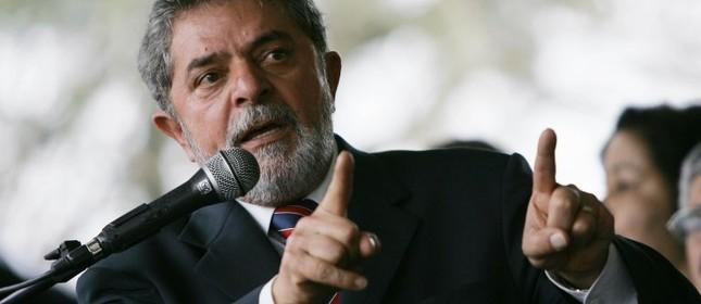 Lula, um tanto quanto irritado (Foto: Divulgação)