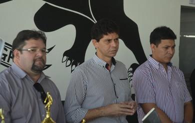 Diretoria do São Raimundo (Foto: Gustavo Campos/GloboEsporte.com)