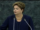 'O Brasil sabe proteger-se', diz Dilma em discurso na Assembleia da ONU
