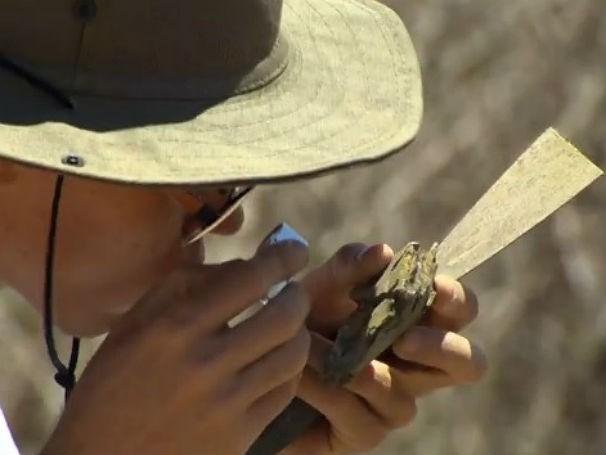 Cariri expedição: região rica para paleontólogos: como será? (Foto: Reprodução de TV)