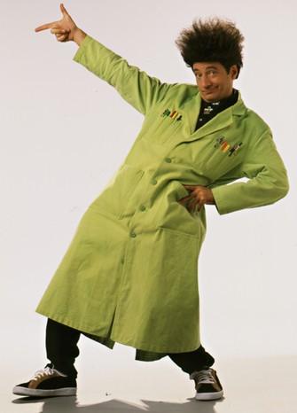 Paul Zaloom, famoso pelo programa de TV Mundo de Beakman, sucesso dos anos 90 (Foto: Divulgação)