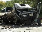 Acidente na BR-251 deixa 13 mortos e 39 feridos no norte de Minas Gerais