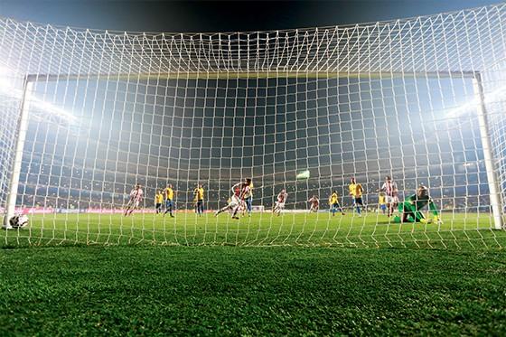 Jogo do Brasil contra o Paraguai na Copa América  (Foto: LatinContent/Getty Images)