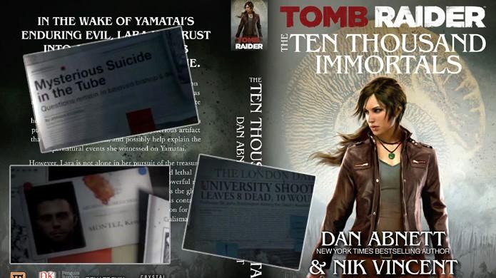 Detalhes aparentemente aleatórios são na verdade fatos de outras mídias em Rise of the Tomb Raider (Foto: Reprodução/Rafael Monteiro)