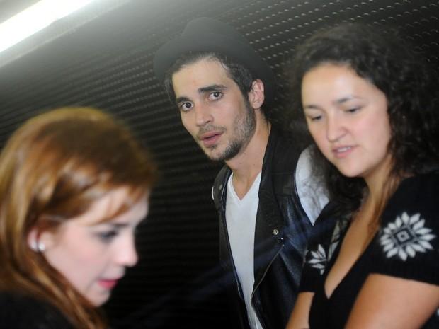 Sophia Abrahão e Fiuk em premiação em São Paulo (Foto: Francisco Cepeda/ Ag. News)