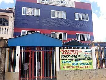 Escola no Guará usou três caixas d'água de reserva (Foto: Isabella Formiga/G1 DF)