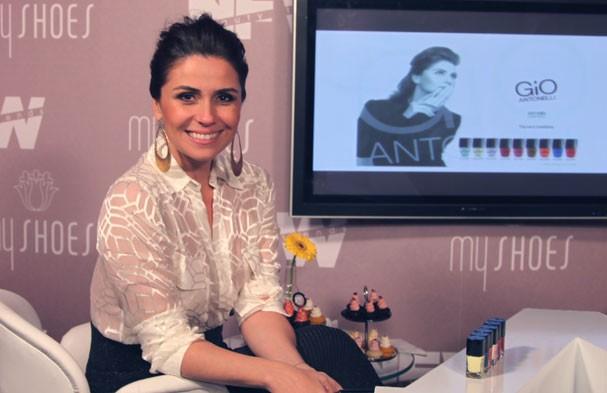 Giovanna Antonelli, no lançamento de seus esmaltes (Foto: Renata Kalil)