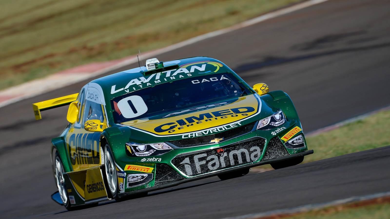 Cáca Bueno da Cimed Racing (Foto: Divulgação/Vicar)