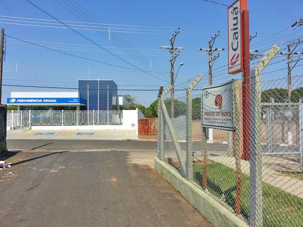 INSS e Caiuá ainda não firmaram contrato de fornecimento (Foto: Mateus Tarifa/GloboEsporte.com)