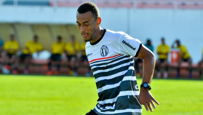 Rio Branco-SP x XV de Piracicaba Diego Silva Volante Jogo-treino (Foto: Sanderson Barbarini / Foco no Esporte)