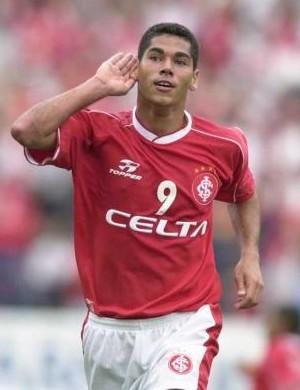 Rodrigão no Inter, em 2000 (Foto: Divulgação / SC Internacional)