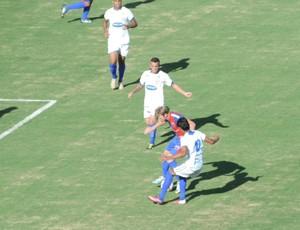 Jogo entre Grêmio e Assisense foi na tarde deste sábado (Foto: Mateus Tarifa / Globoesporte.com)
