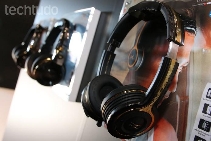 Fones de ouvido Monster (Foto: Fabrício Vitorino/TechTudo)