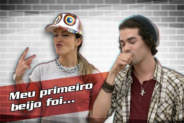 Claudinha e Sam  (Foto: The Voice Brasil/TV Globo)