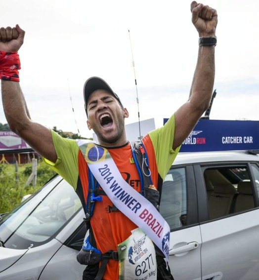 contra o tempo (Marcelo Maragni/Wings for Life World Run)