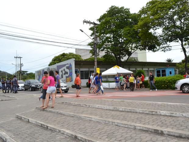 Segunda fase do vestibular da Ufes começa em seis cidades do Espírito Santo (Foto: Viviane Machado/ G1)
