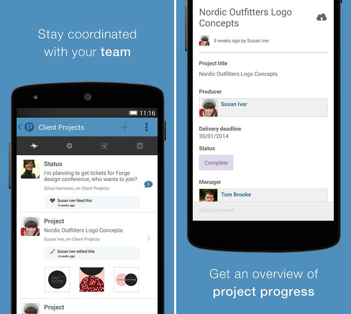 Podio é o aplicativo ideal para conversar e trocar arquivos com uma equipe (Foto: Divulgação)