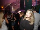Fernanda Souza e mais famosos vão a show de Thiaguinho no Rio
