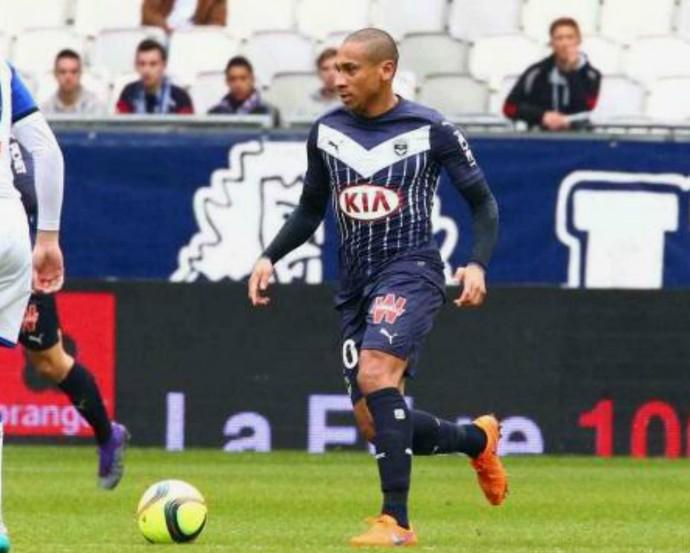 Jussiê Atlético-PR (Foto: Site oficial do Bordeaux/Divulgação)
