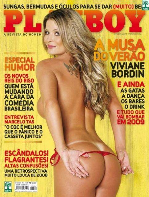 Viviane Bordin na Playboy de 2009 (Foto: Reprodução/Divulgação)