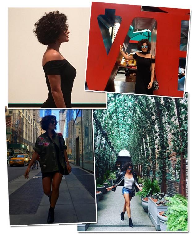 Ju Paes em NYC (Foto: Reprodução / Instagram)
