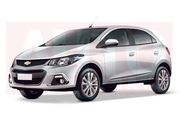 Segredo: Chevrolet Onix reestilizado chega ao mercado em ...
