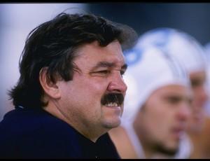 Ratko Rudic, em 1995, quando era treinador da seleção da Itália (Foto: Getty Images)