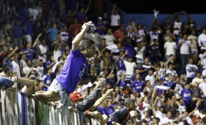 Torcida do Goytacaz (Foto: Carlos Grevi / Ag. Ururau)