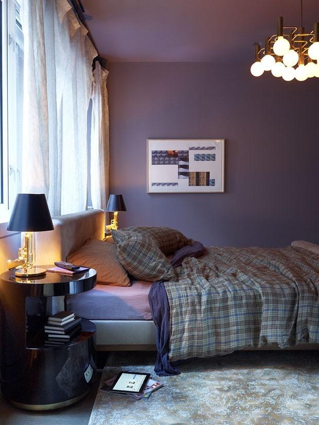 Décor do dia: quarto masculino vintage e sofisticado (Foto: FRAMPTON CO/DIVULGAÇÃO)