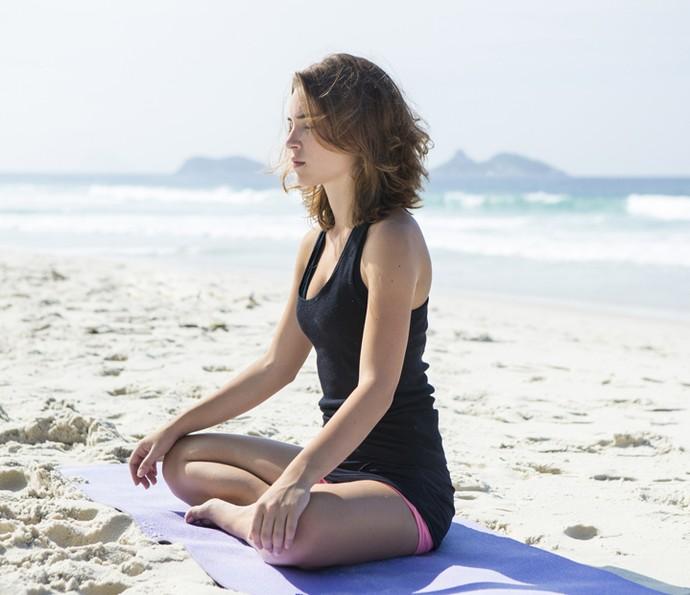 Serena, Marcela diz que era muito estressada e a meditação é fundamental em sua vida (Foto: Felipe Monteiro/Gshow)