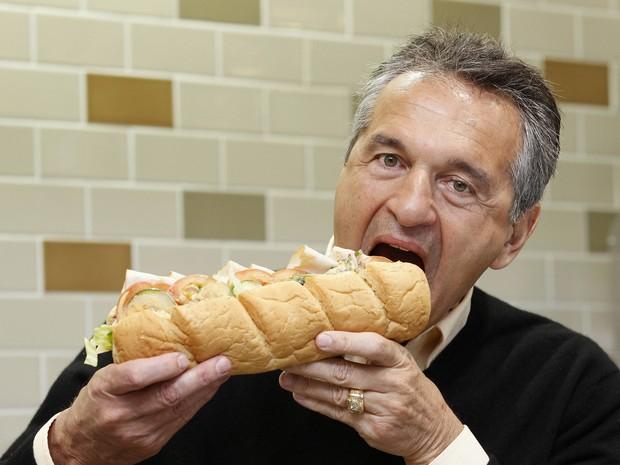 Fred DeLuca, cofundador da rede Subway, em imagem de 2012. (Foto: Reuters)