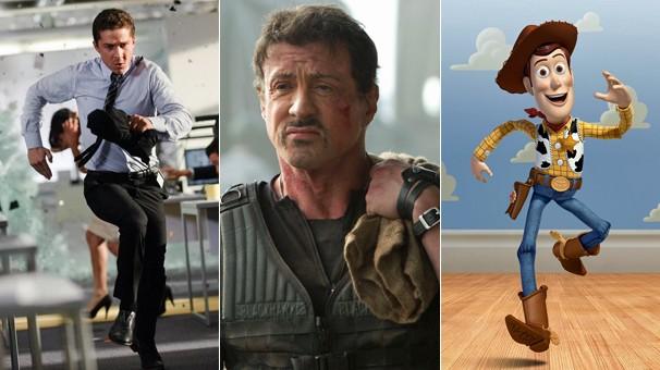 'Transformers: O Lado Oculto da Lua', 'Os Mercenários 2' e 'Toy Story 3' chegam até você pela Globo (Foto: Divulgação)
