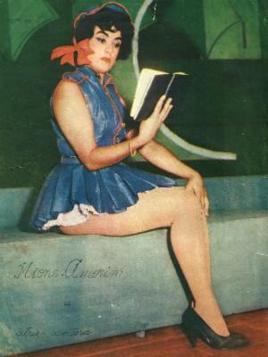 Mione também faz parte da história da TV brasileira (Foto: Mione Amorim / Arquivo Pessoal)