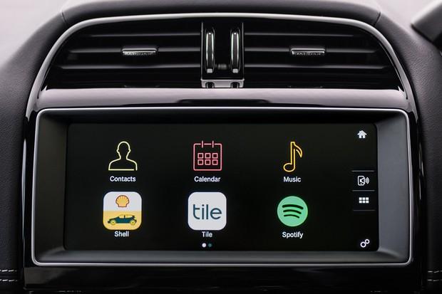 Jaguar e Shell lançam sistema de pagamento de combustível pela tela multimídia (Foto: Divulgação)