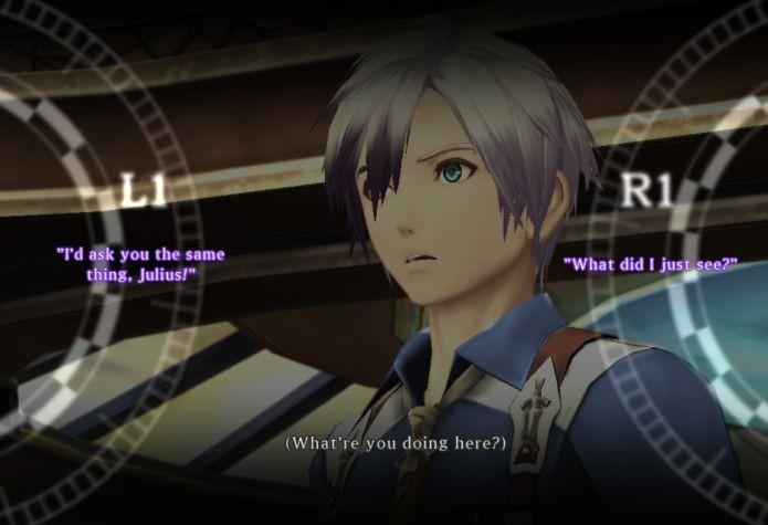 Os diálogos em Tales of Xillia 2 são interativos (Foto: Reprodução)