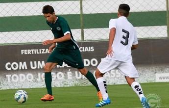Fora de casa, Santos empata com o Goiás na estreia do Brasileiro sub-20
