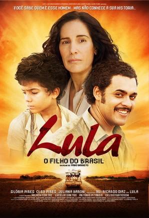cartaz de Lula, o Filho do Brasil