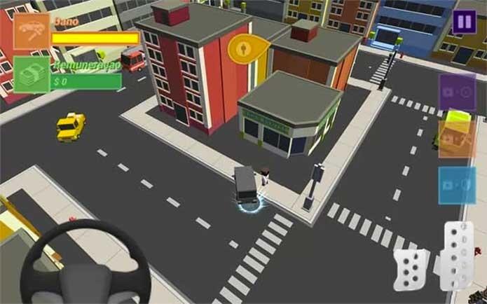 Uberland te coloca no comando do carro preto (Foto: Divulgação)