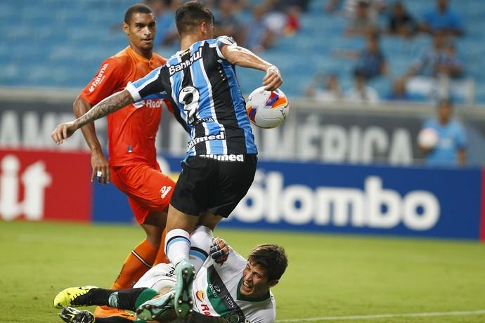 grêmio juventude arena do grêmio gauchão everaldo (Foto: Lucas Uebel/Grêmio FBPA)