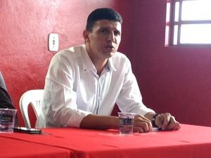 Carlos Calmon, gerente de futebol (Foto: Felipe Santos)