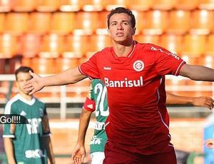 Destaque É Gol - Leandro Damião comemora gol do Internacional contra o Palmeiras