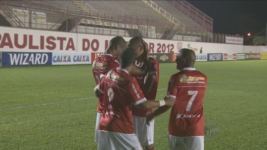 Números do Mogi na Série B mostram dependência de Rivaldo e Rivaldinho