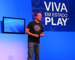 Mark Stanley, presidente da Sony da América Latina (Foto: Daniela Braun/G1)